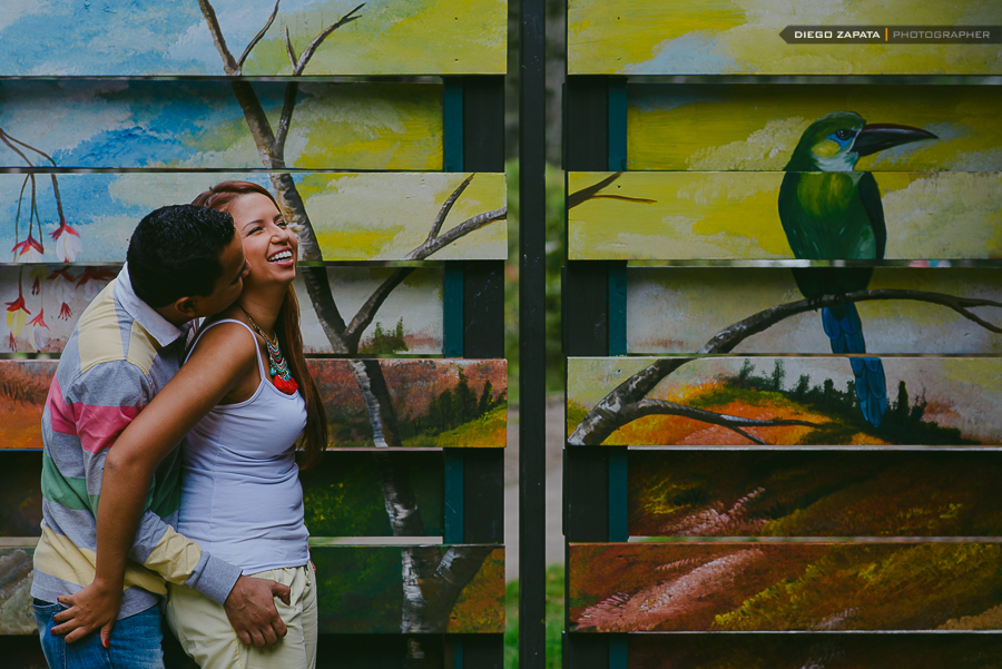 Fotografia Preboda Medellin Parque Arvi Juan Denis